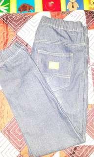 Seluar Jeans(Pinggang Getah)