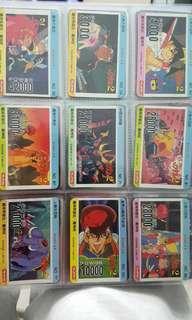 魔神英雄傳 萬變咭 港版 白卡25張