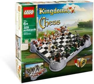 Lego Kingdoms Chess Set