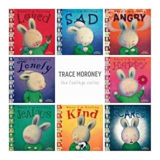 Trace Moroney - When I Am Feeling Series Story Books (8 Books)