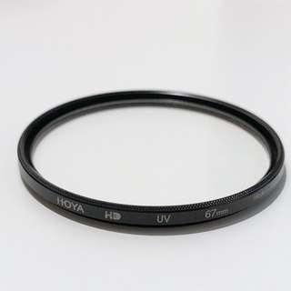 Hoya HD 67mm UV filter made in japan