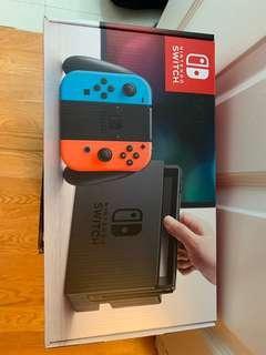 Brand New Nintendo Switch Neon