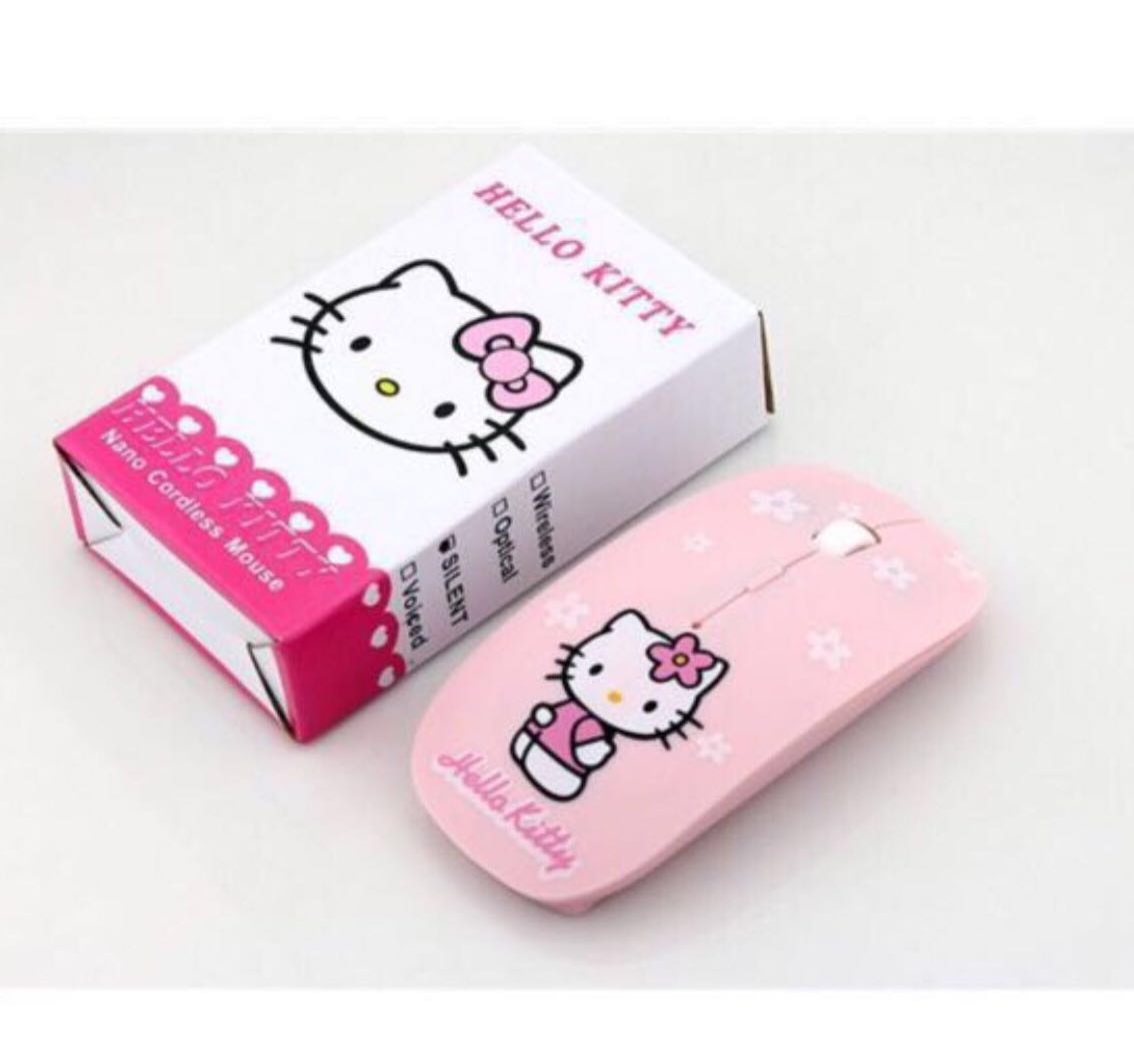3cd04b34fa6 🐱 🐱 Hello Kitty Wireless Mouse plus Mouse pad 🐭 🐭, Electronics ...