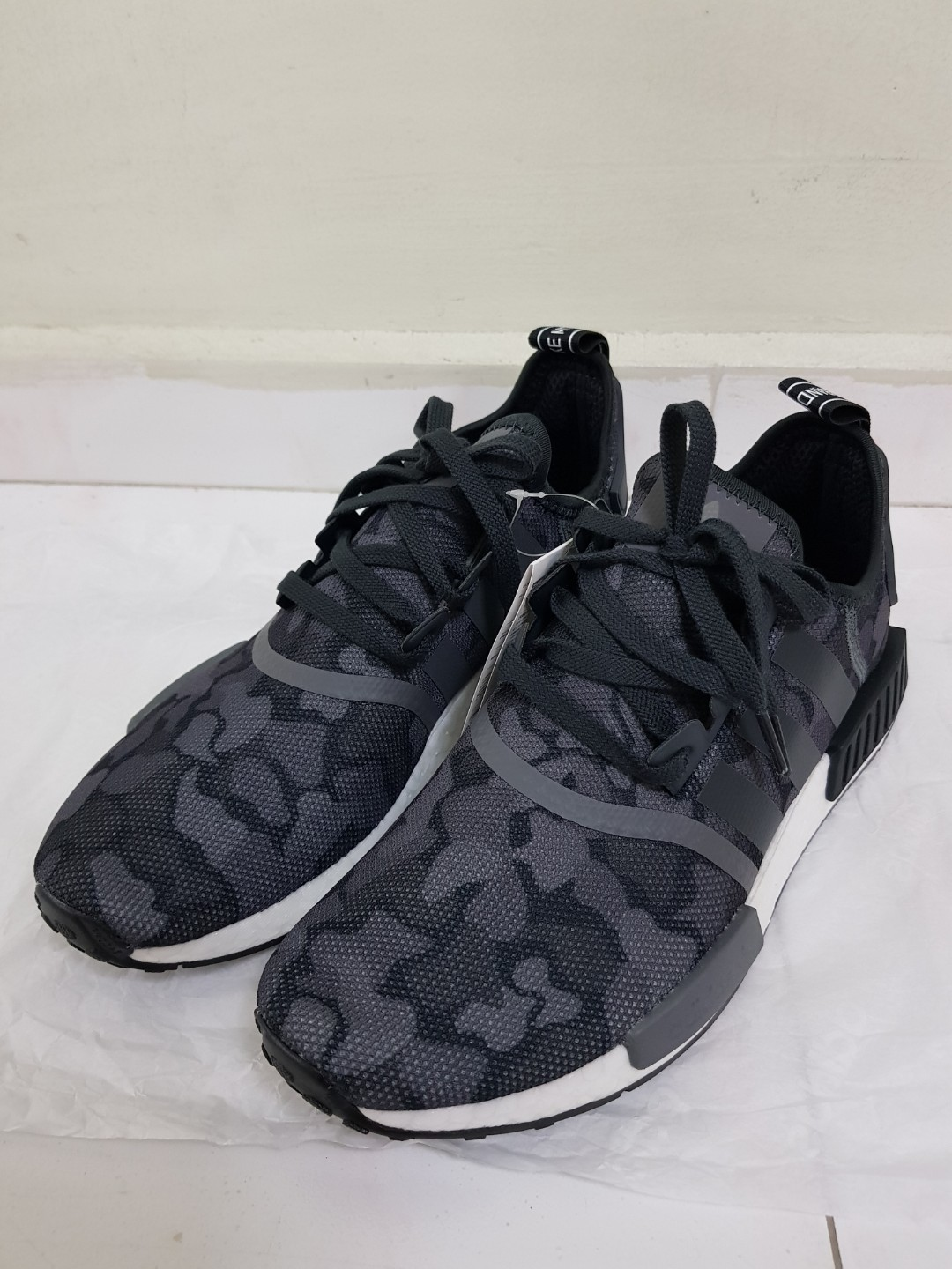 330734dc1 Adidas NMD R1 Black Camo for sale