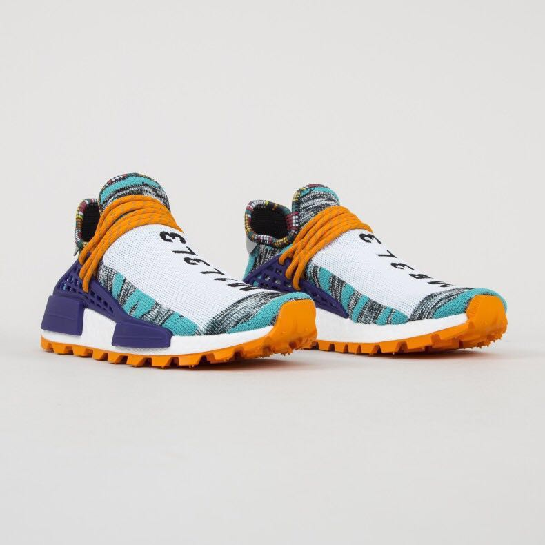 5bb8aa4d9 ADIDAS ORIGINALS X PHARRELL WILLIAMS SOLARHU NMD  SOLAR PACK  (HI ...