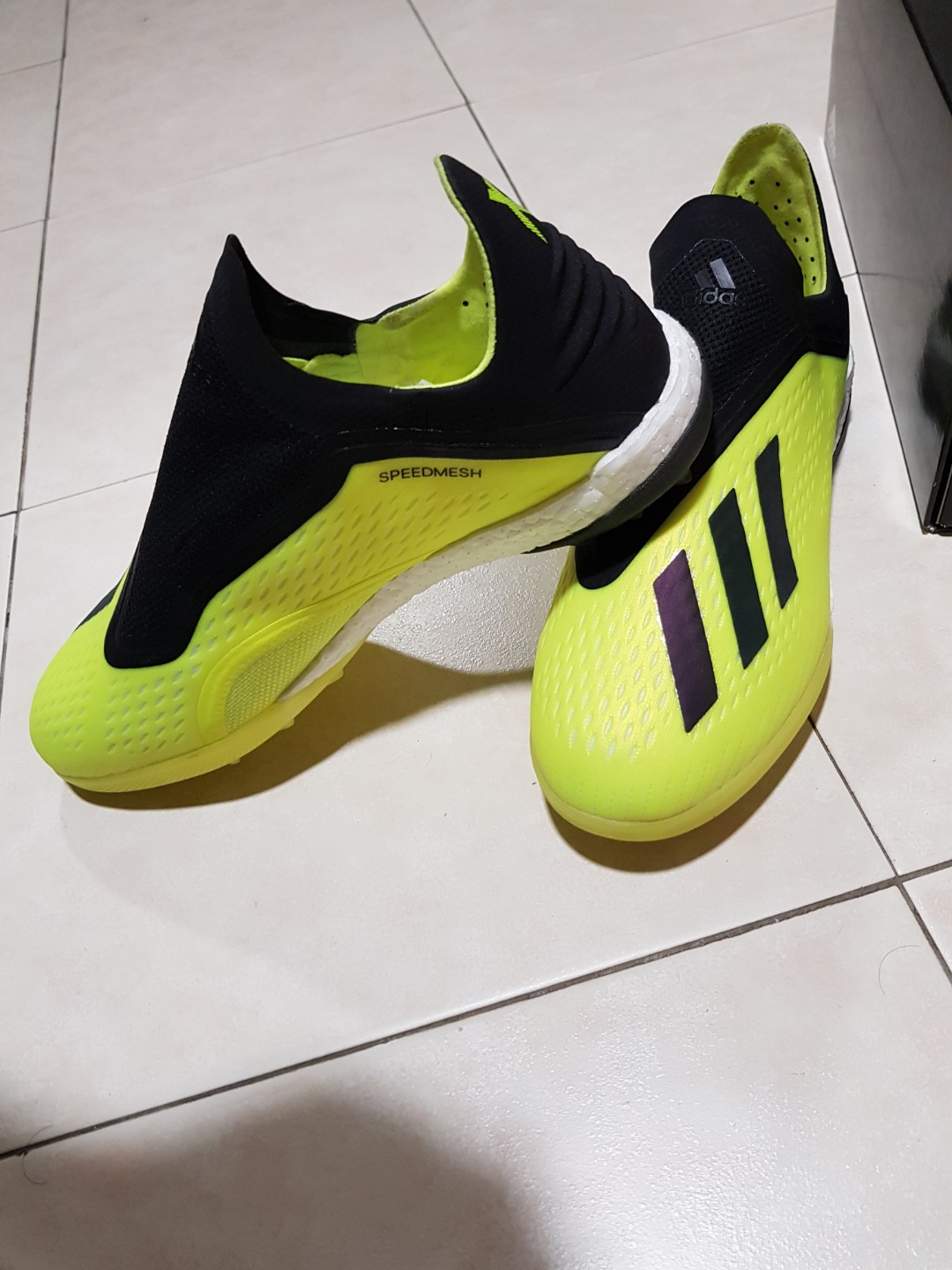 cheaper 30a60 c69ca Adidas X Tango 18+ Turf, Sports, Sports Apparel on Carousell