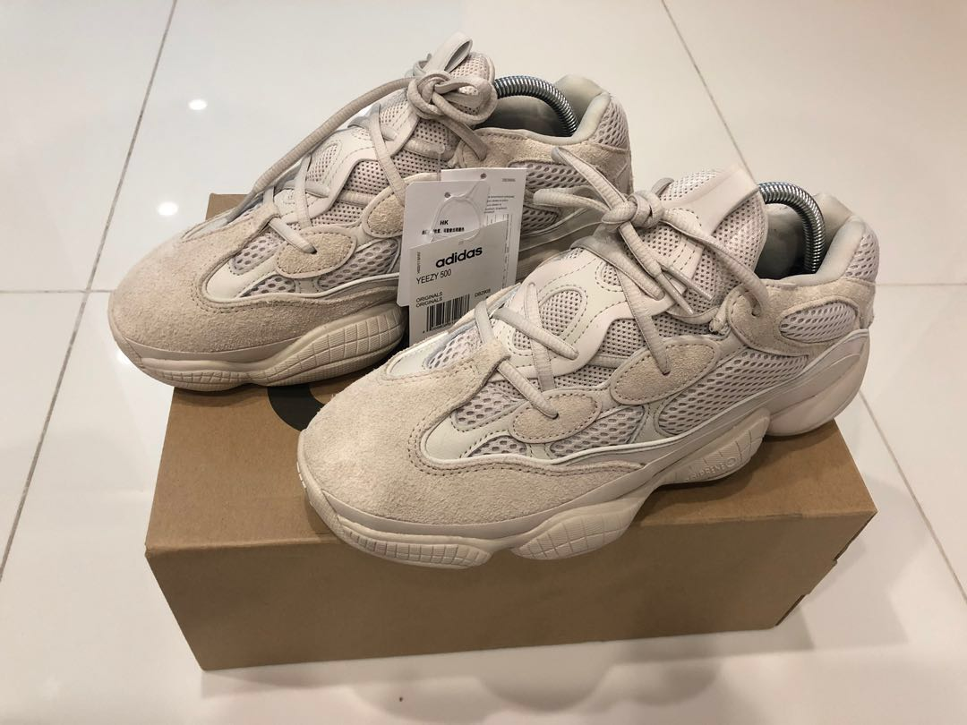 low priced d0a5e 4ad6e Adidas Yeezy 500 Desert Rat Blush, Men s Fashion, Footwear, Sneakers on  Carousell