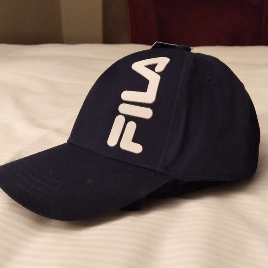 f71cd6a4304 Authentic FILA Cap (Navy)