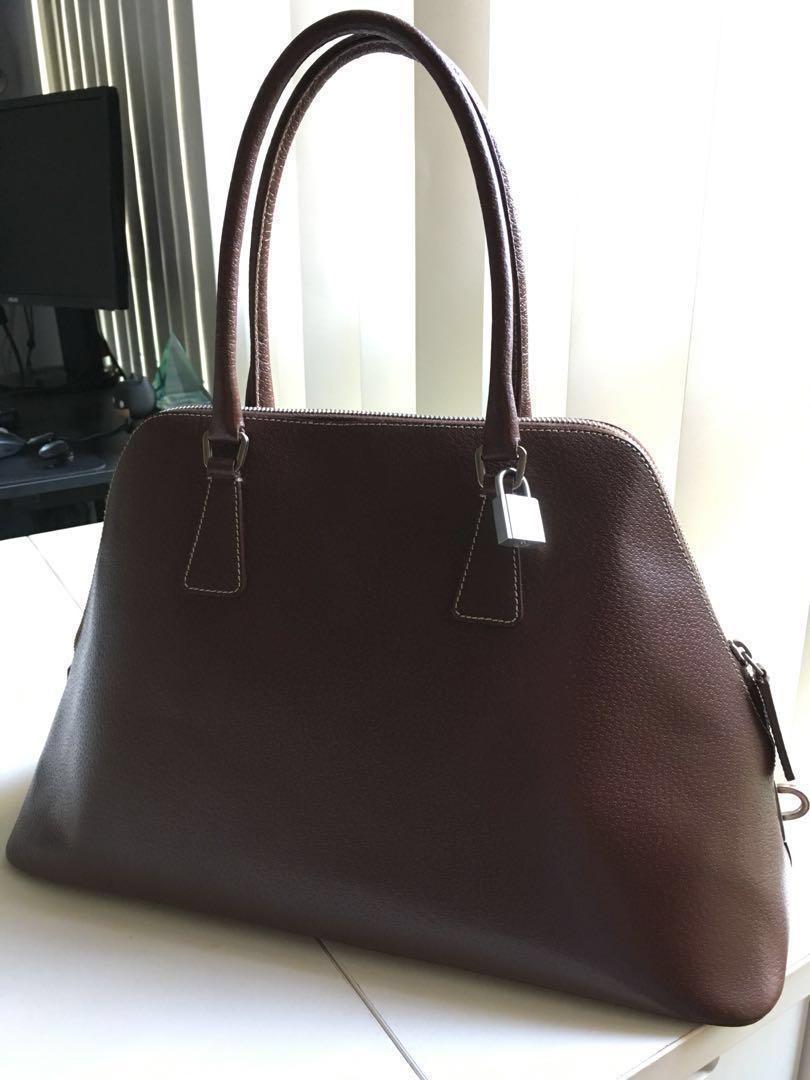 d1b434eafe9a Authentic Prada leather bag