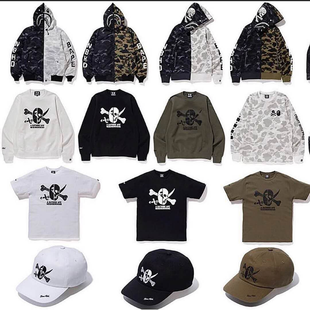 cfd659dc180e Bape x Neighborhood (preorder now)