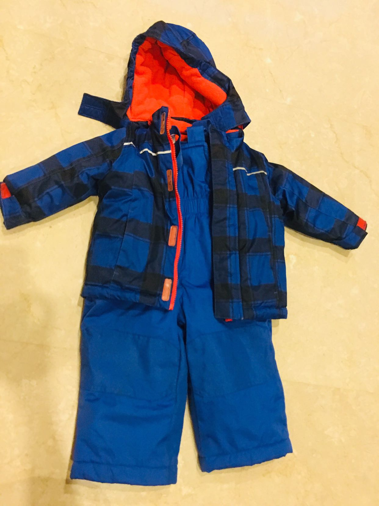 84be9ba09a06 Boys   Baby Boy Winter Jacket full Ski Suit Set 12-18 months