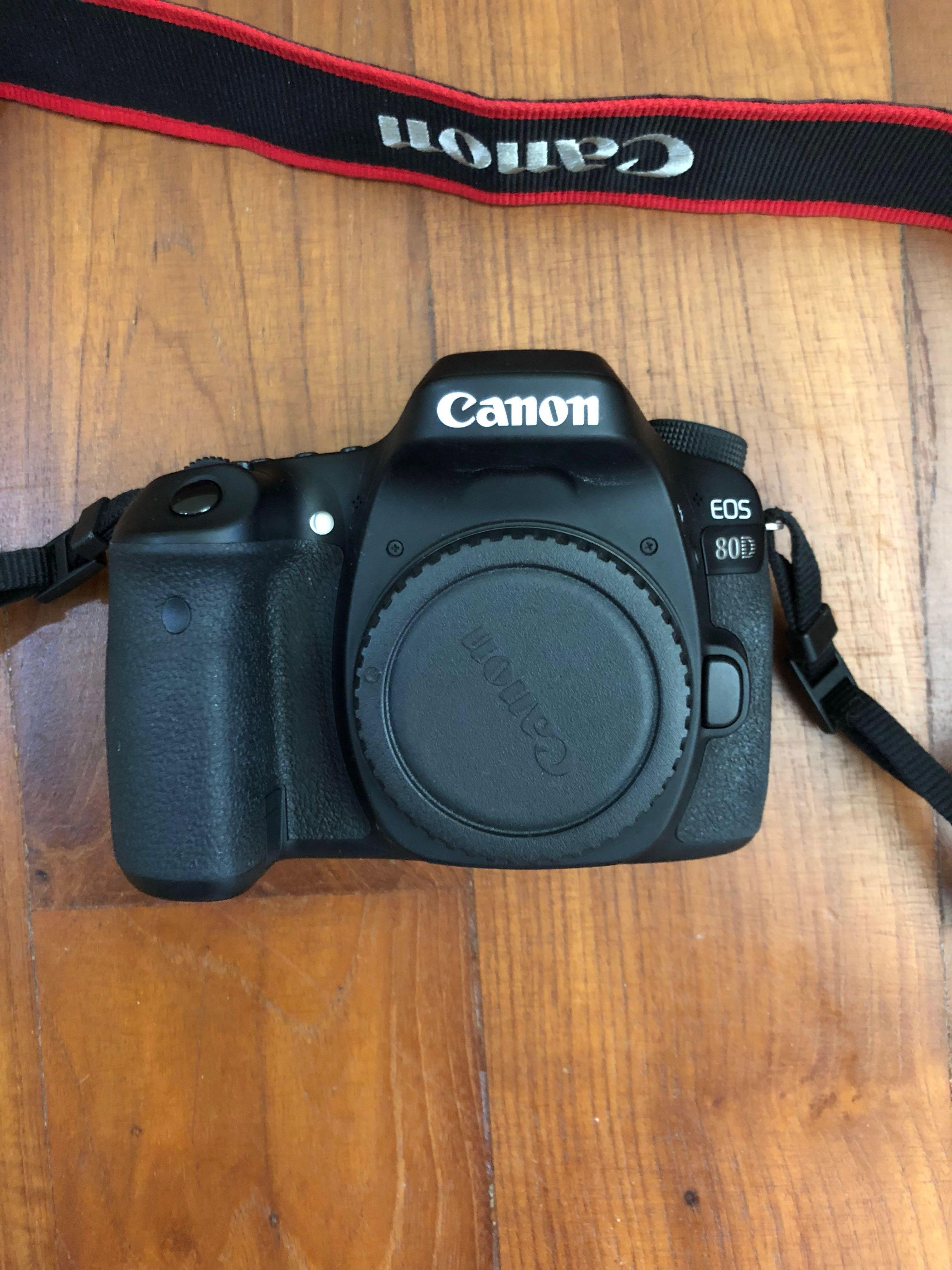 Canon 80D with 18-55mm kit lens , Photography, Cameras, DSLR