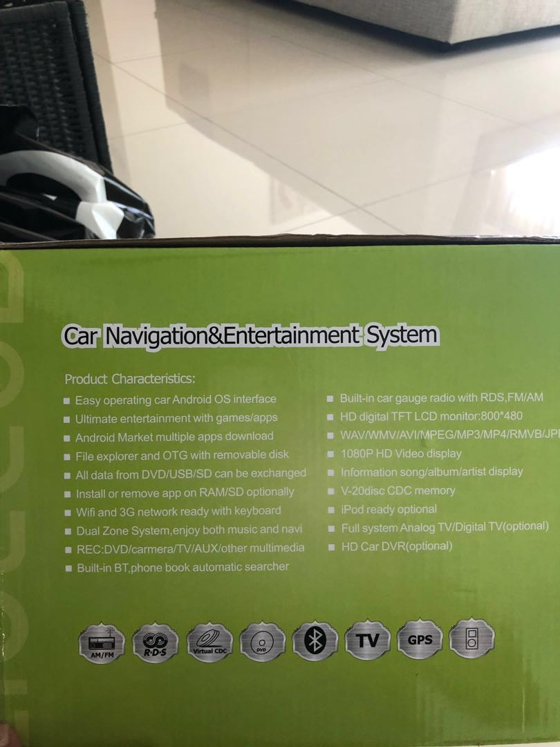 Car Entertainment System for BMW 1 series