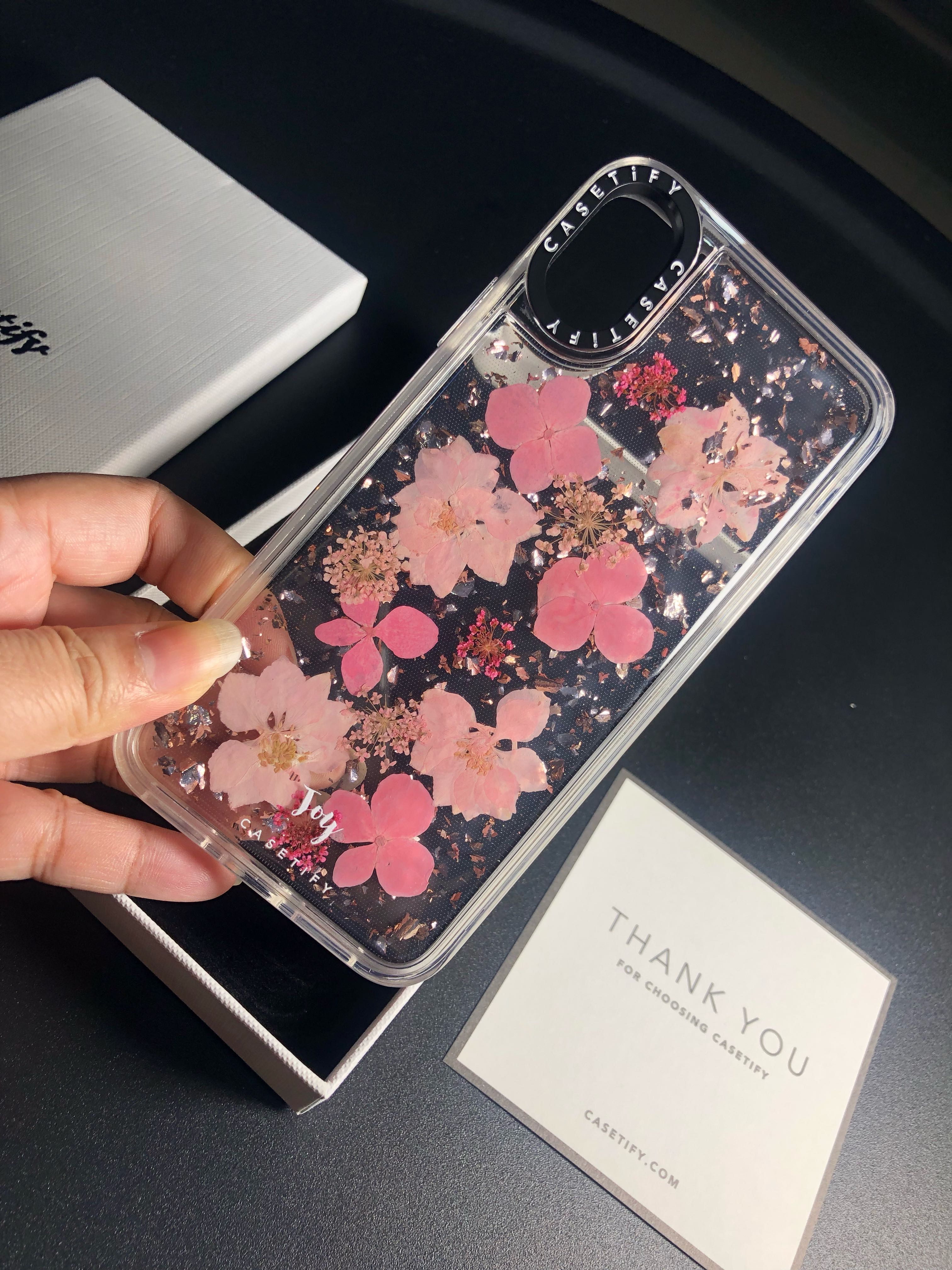 size 40 3374c 6c5ac Casetify Iphone X Luxe Pressed Flower Case