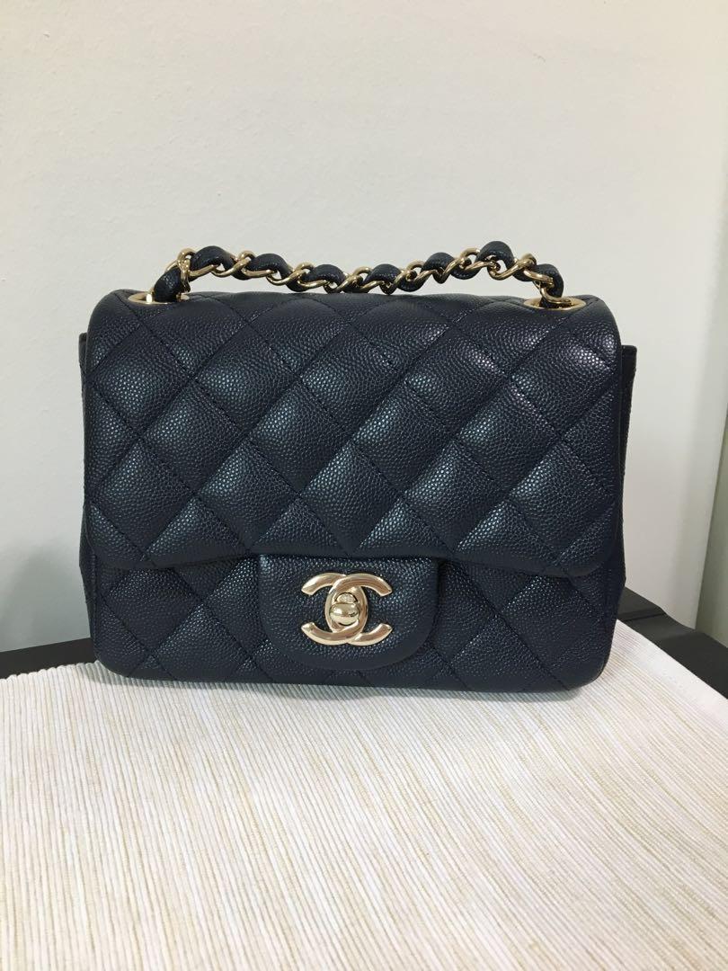 Chanel Classic Mini Square Luxury Bags Wallets Handbags On