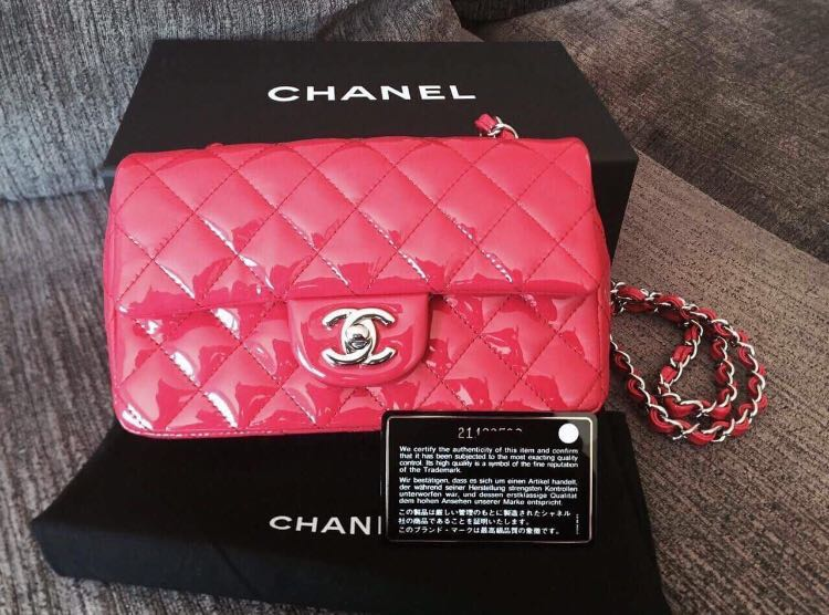 a5cbc8f5d364d2 Chanel Rectangular Mini, Luxury, Bags & Wallets, Handbags on Carousell