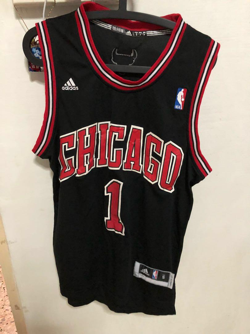 in stock 065e6 3f803 Chicago Bulls Jersey: Rose No. 1, Size S, Sports, Sports ...