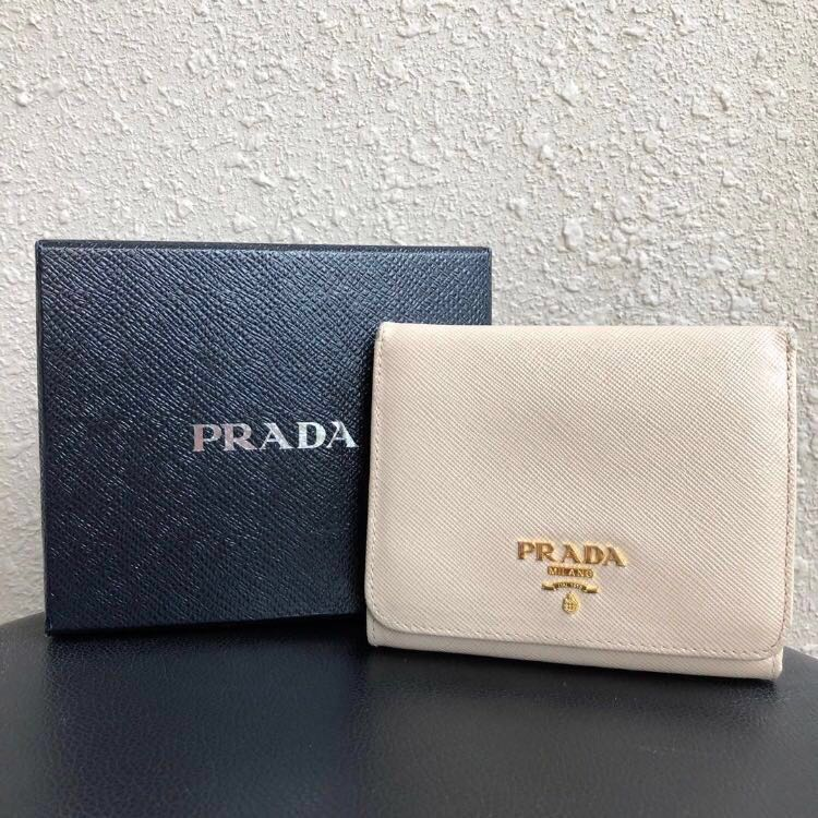 46038df8ce364c ... coupon for classic prada trifold short wallet luxury bags wallets  wallets on carousell 69b2b ab3cb