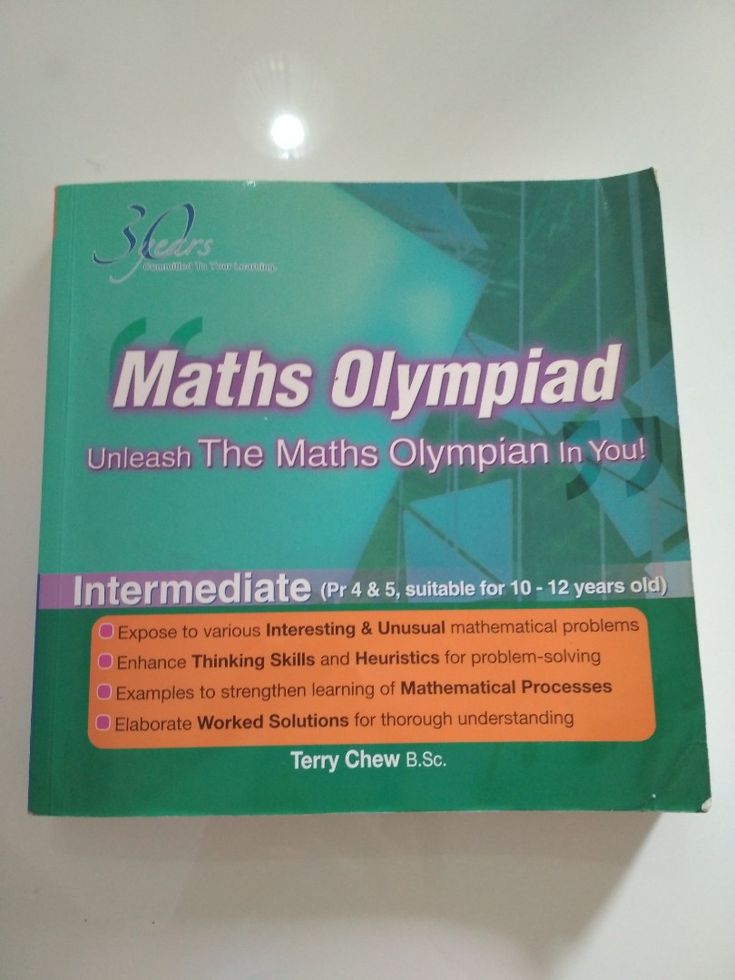 Clear! Maths Olympiad Book (Intermediate P4/P5), Books