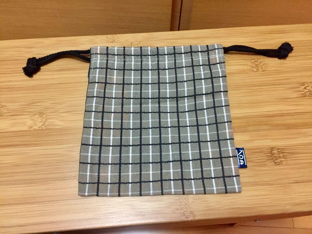 Cotton pouch (new) 索繩袋