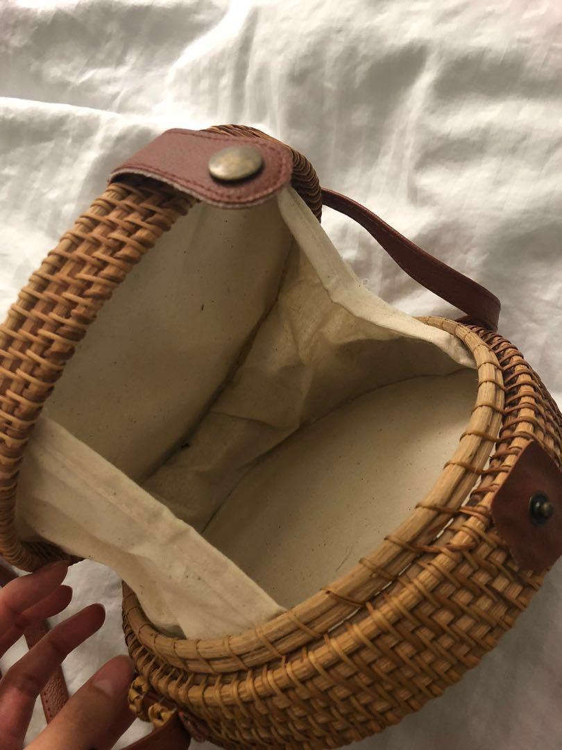 Cute bamboo purse
