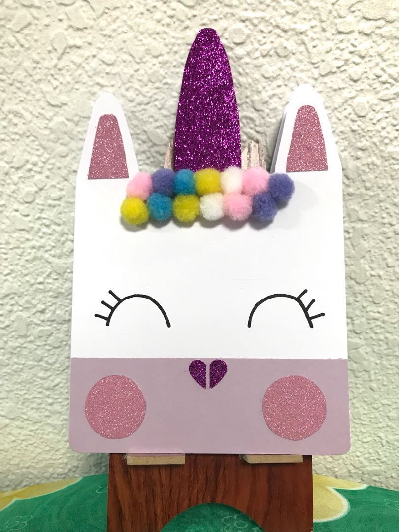 Cute Unicorn Card Birthday Card Design Craft Handmade Craft On