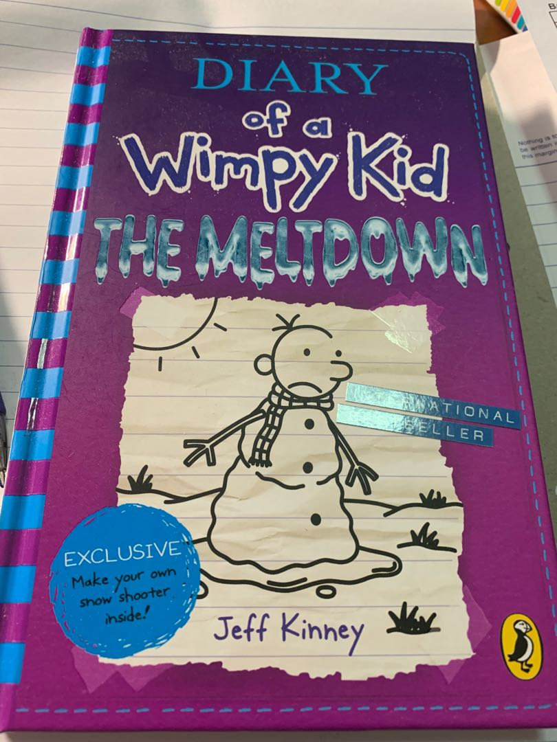 Diary Of A Wimpy Kid The Meltdown Books Stationery Children S Books On Carousell