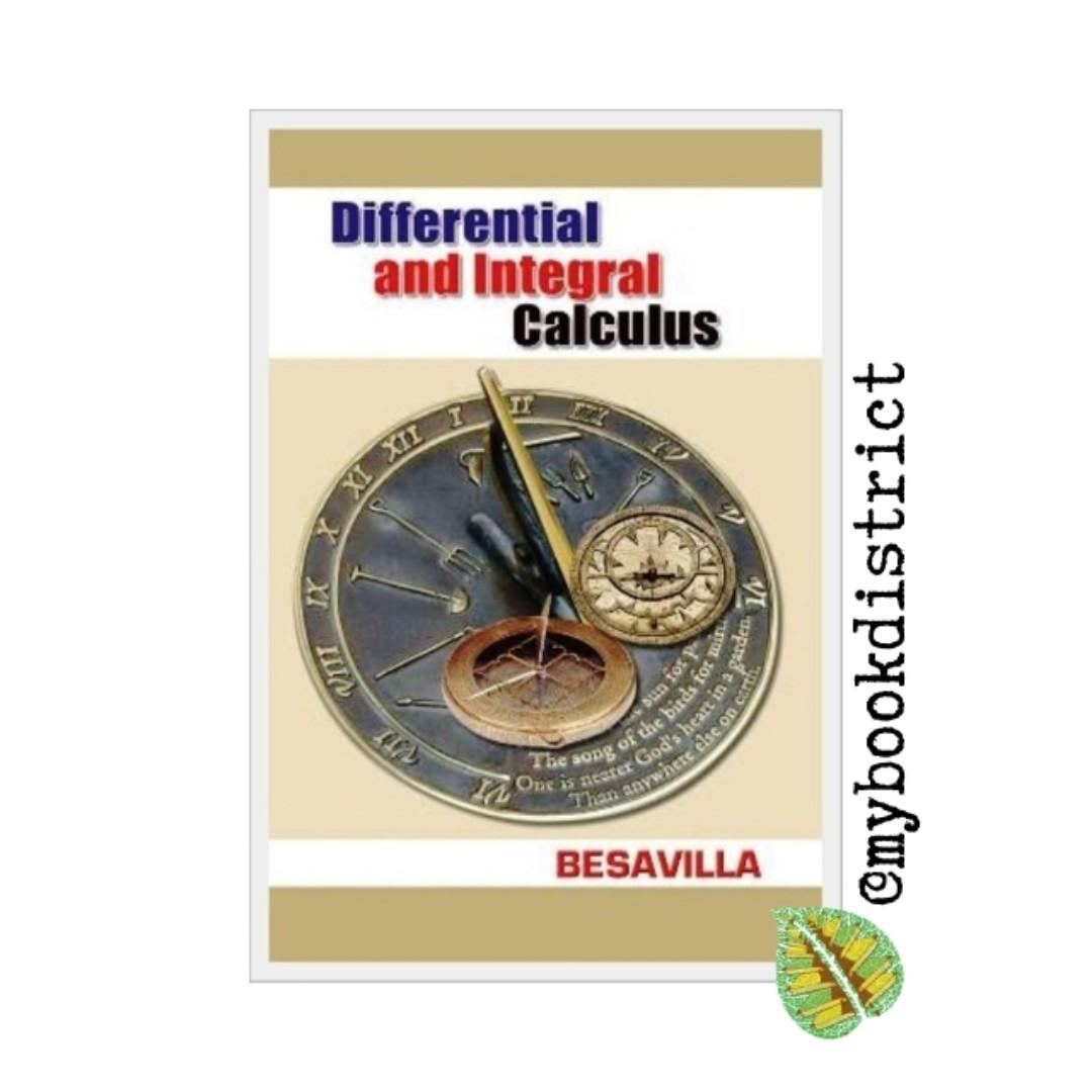 Differential and Integral Calculus by Besavilla, Books