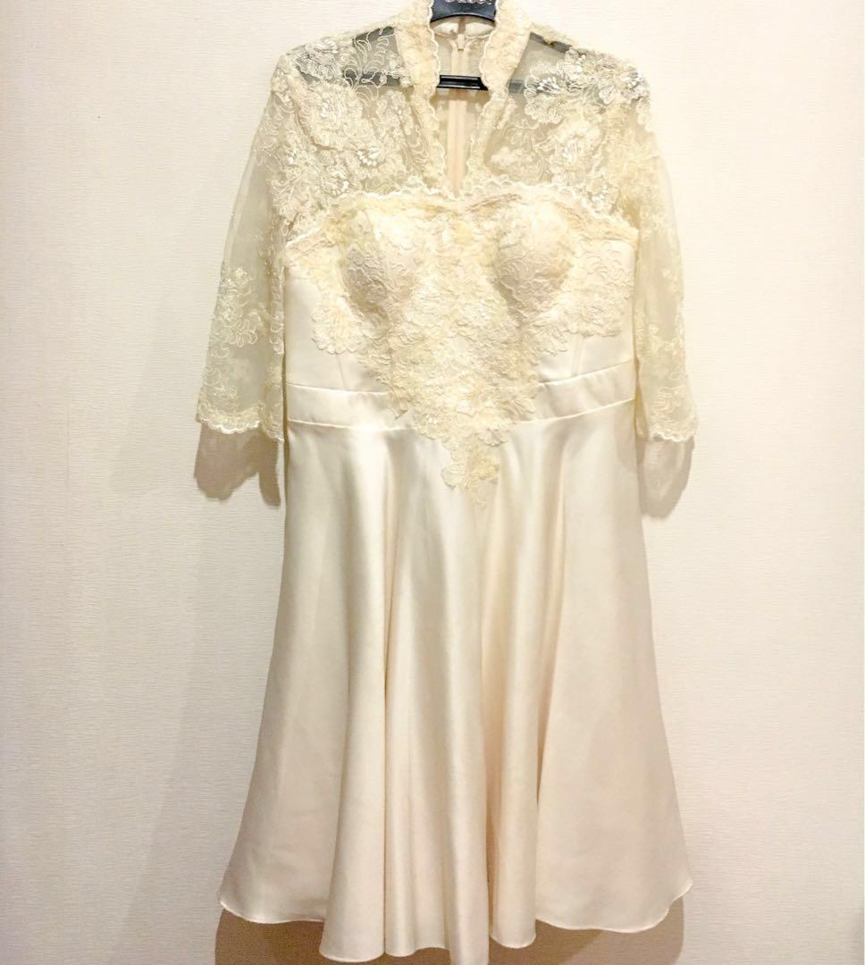 Dress Pesta Kebaya Modern Gaun Pesta Brokat Pendek Women S