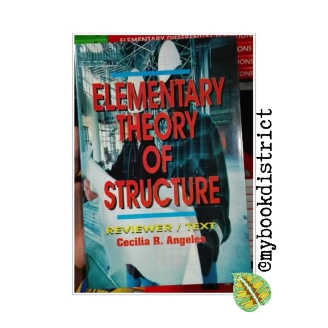 Elementary Theory of Structures Reviewer  by Cecilia R. Angeles