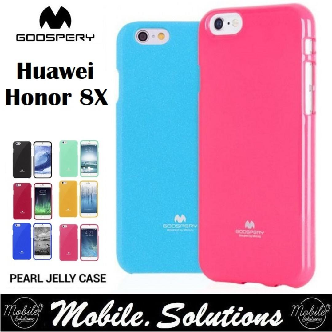 Goospery Huawei Honor 8X Jelly Case (Authentic), Mobile