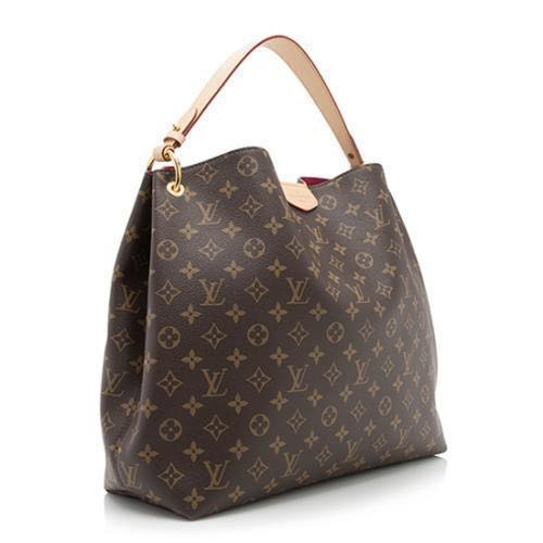 b9e6990b6568 Graceful MM Louis Vuitton Handbag (AUTHENTIC) Beige internal ...