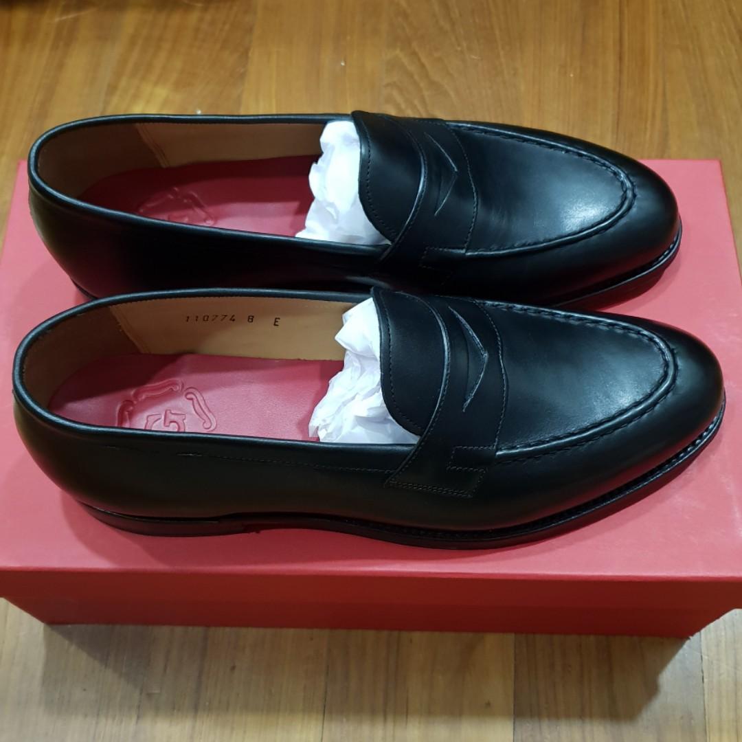 b660f18cfde Grenson Lloyd Leather Penny Loafers