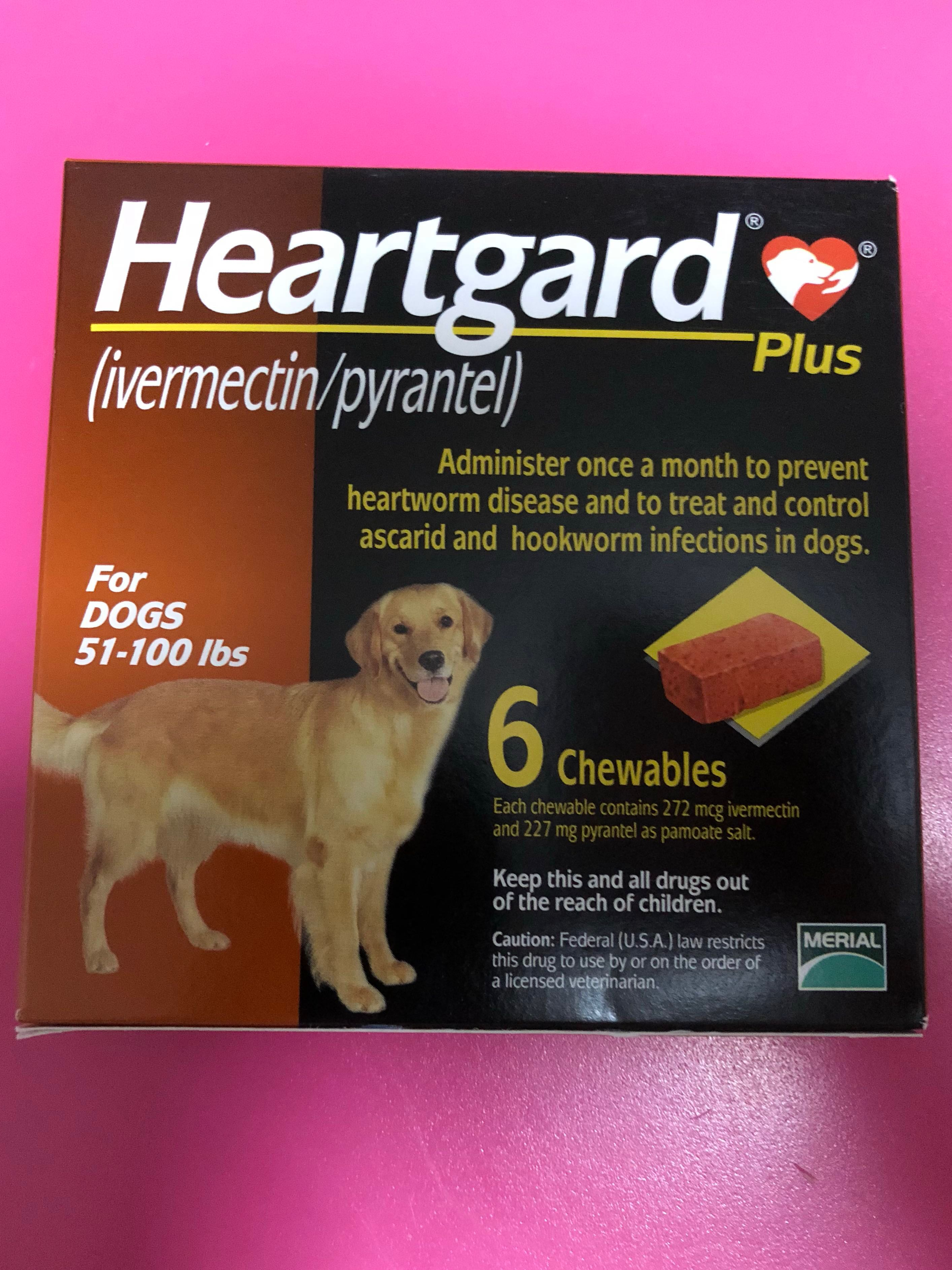 Heartgard Plus - Large dogs, Pet Supplies, For Dogs, Health