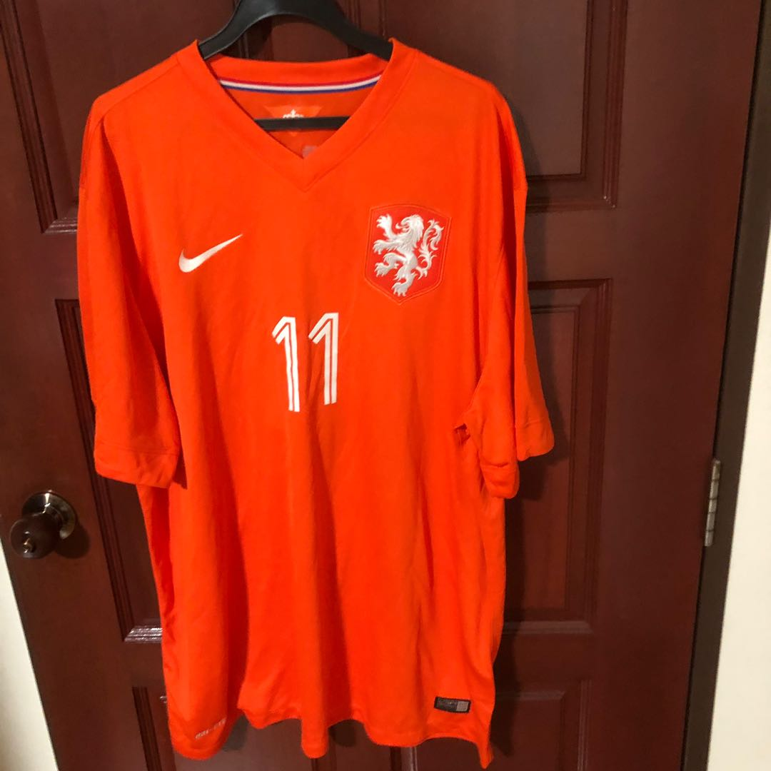 Holland World Cup 2014 Home Jersey 73e7d2ae1