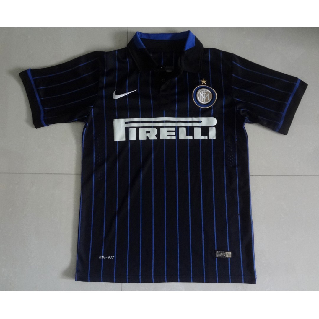 the best attitude c0f6b 418fa Inter Milan Home Used Jersey 2014