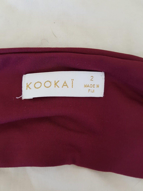 Kookai strapless dress