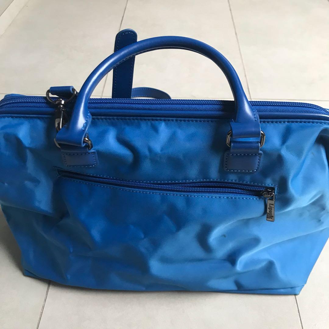 84bc6f550 Lipault Lady Plume Bowling Bag M (Electric Blue), Women's Fashion ...