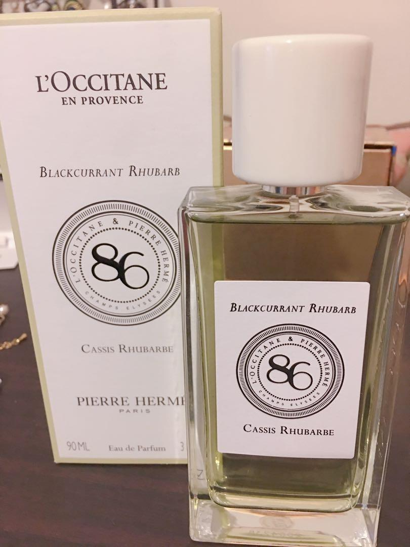 L'occitane 86 champ Perfume (Blackcurrant Rhubarb)