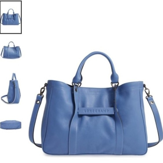 cf6ef2aeb8 Authentic LONGCHAMP 3D TOTE BAG M (Blue Mist), Women's Fashion, Bags ...