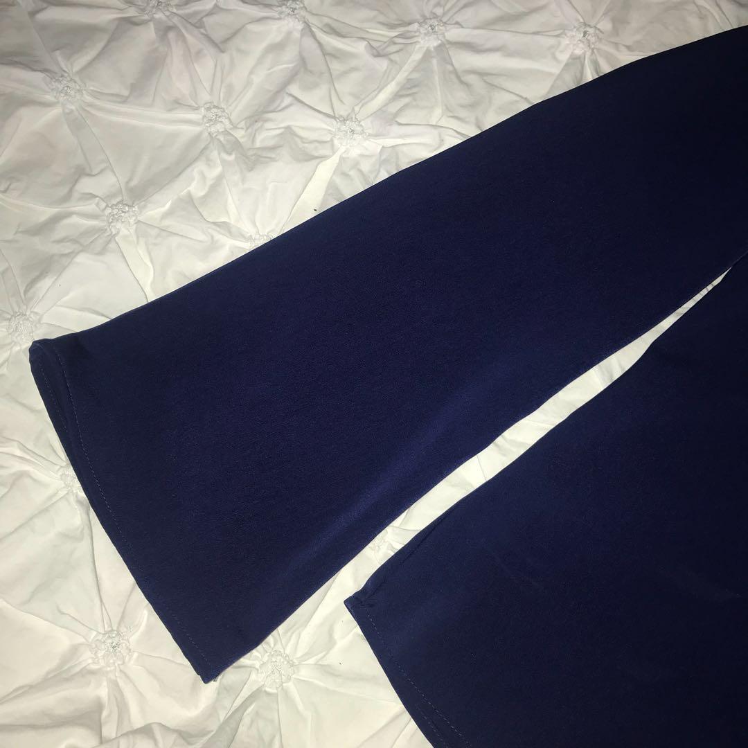 NAVY BLUE COLLARED SHIRT