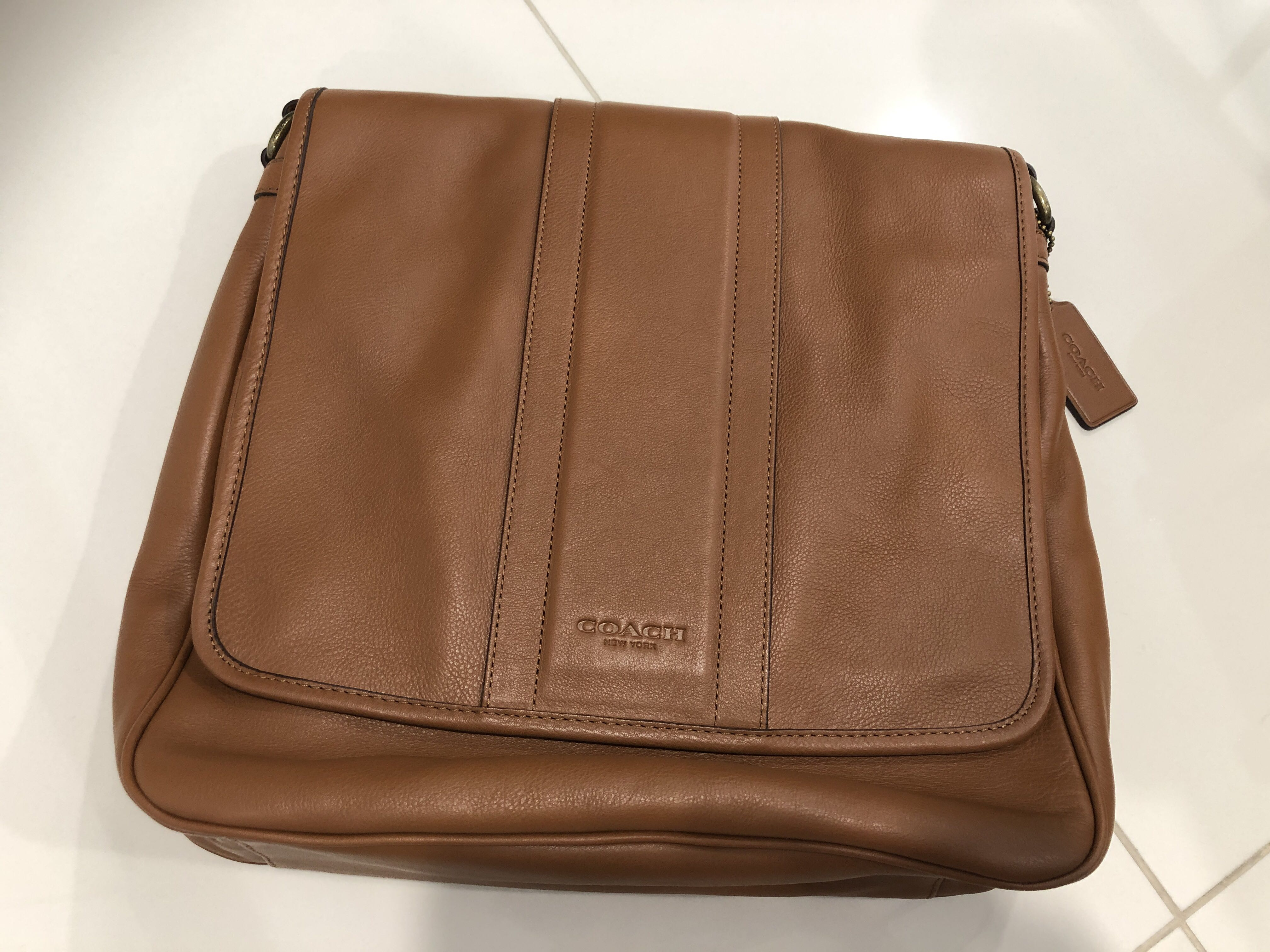 ... clearance new coach leather sling bag perfect fit luxury bags wallets  sling bags on carousell 73caa 9a65ed9c0fa60