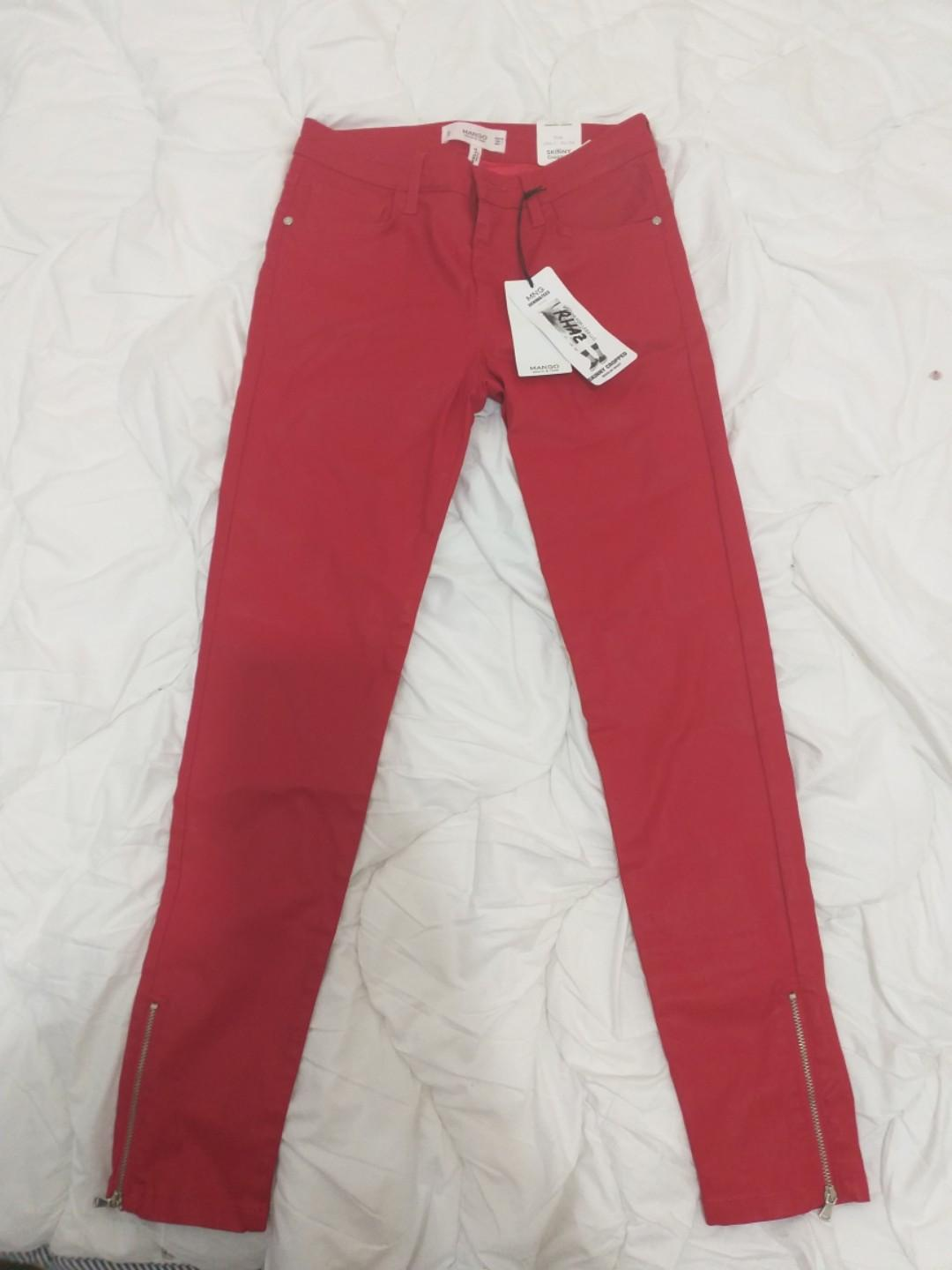 wide range detailed images new lower prices NEW Mango Jeans Skinny cropped Size UK 34 US 2 on Carousell
