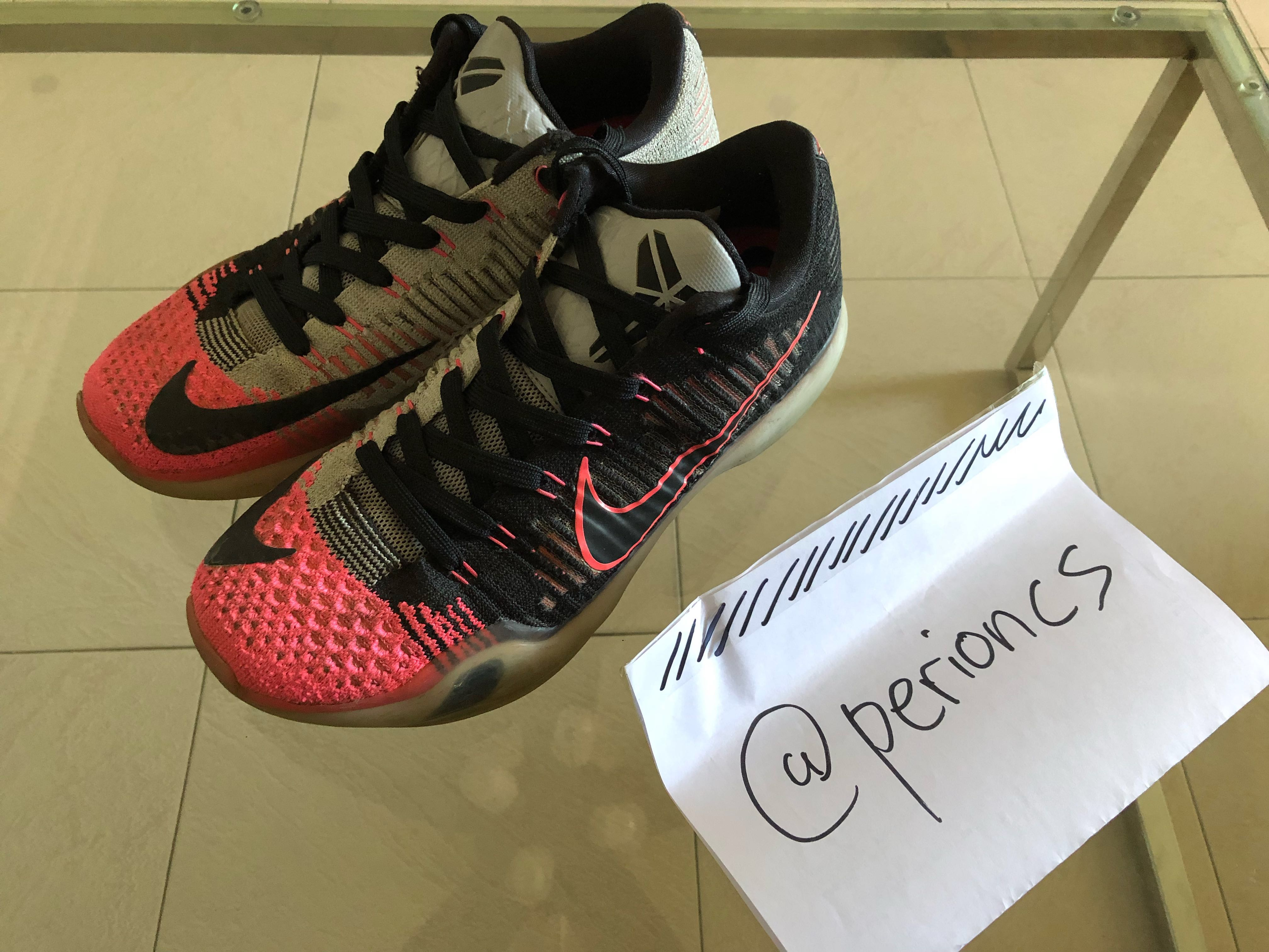 quality design 264dc 555ac Nike Kobe X 10 Elite Low   Mambacurial  , Men s Fashion, Footwear, Sneakers  on Carousell