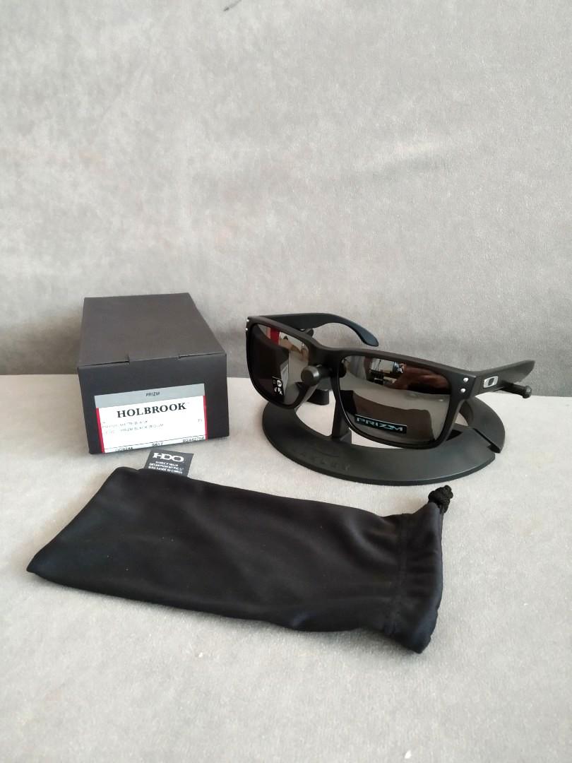 8cc05430c7 Oakley asian fit holbrook matte black prizm black iridium oo9244 ...