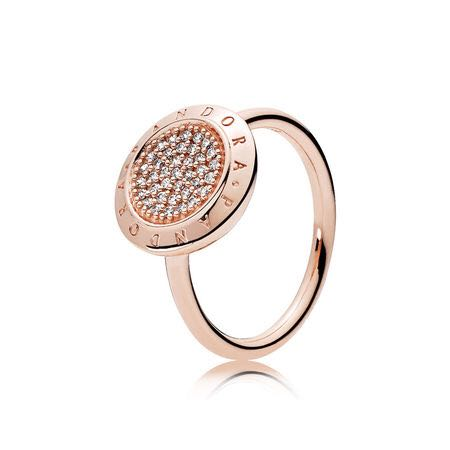 915a6f403 Pandora Signature ring (rose gold) size 52- brand new, Fesyen Wanita ...