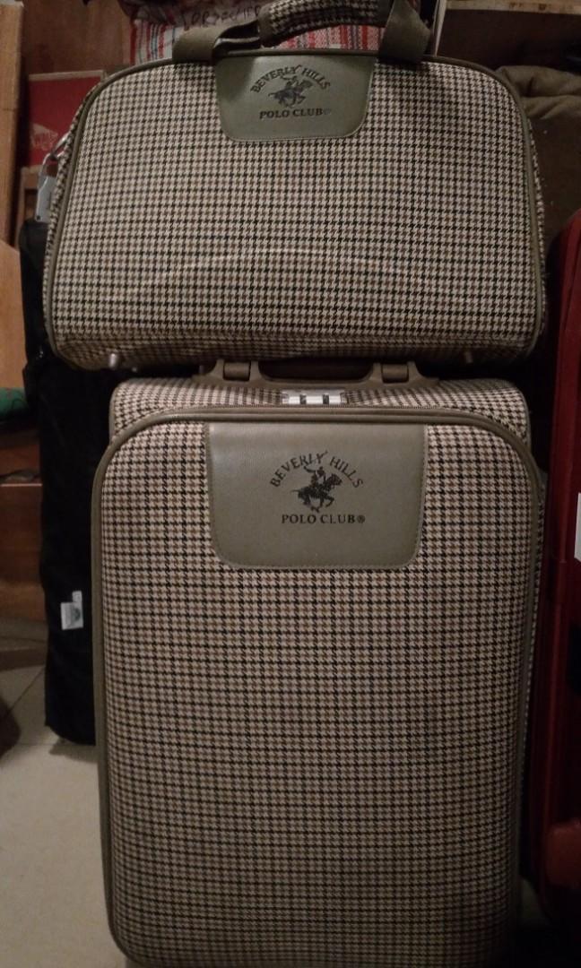 Polo Club Suitcase Set