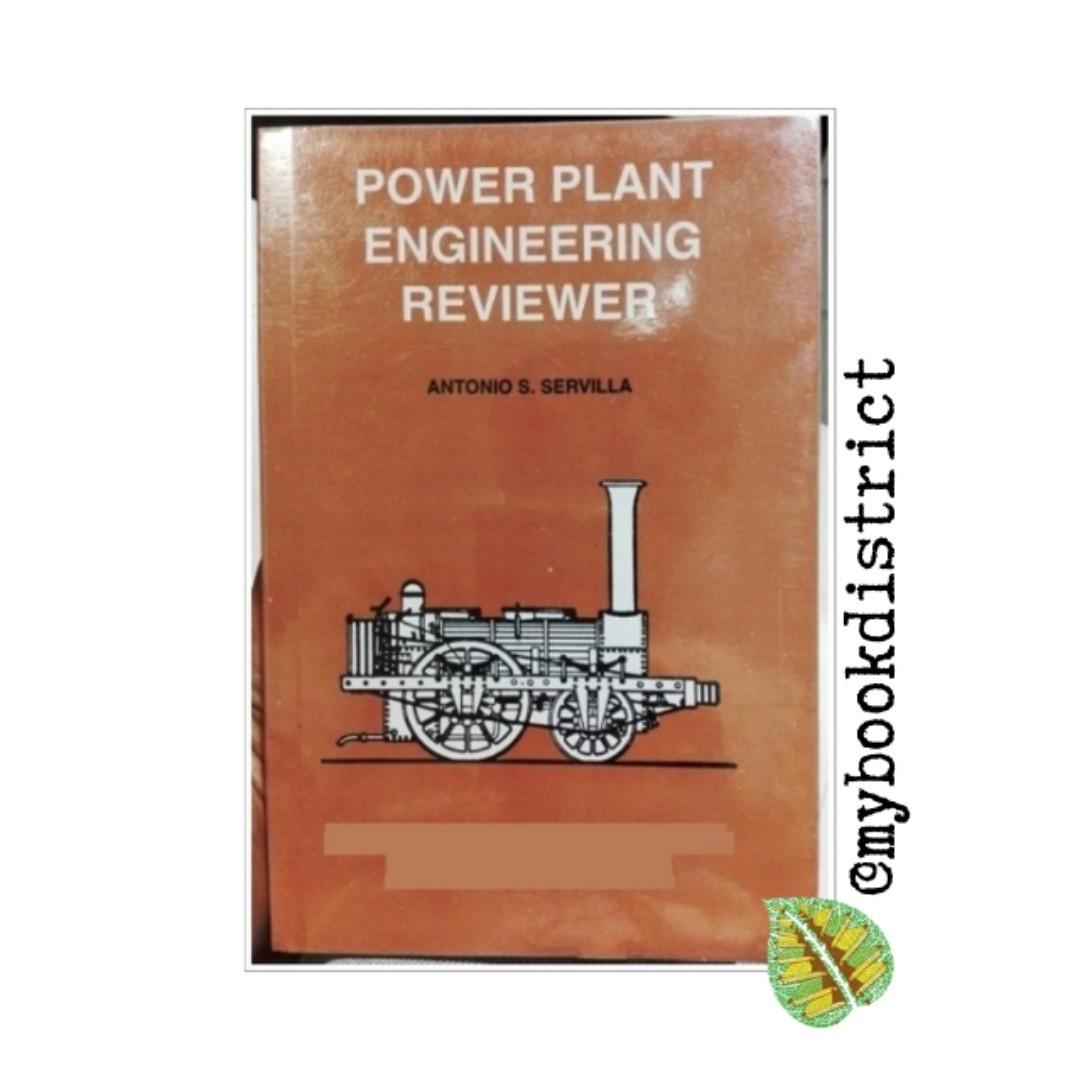 Power Plant Engineering Reviewer By Antonio Servilla