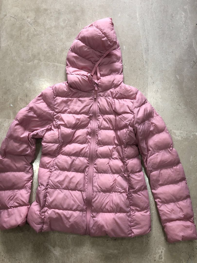 5da877995 Preloved Uniqlo Kids Pink Padded Jacket (Size 150), Babies & Kids ...