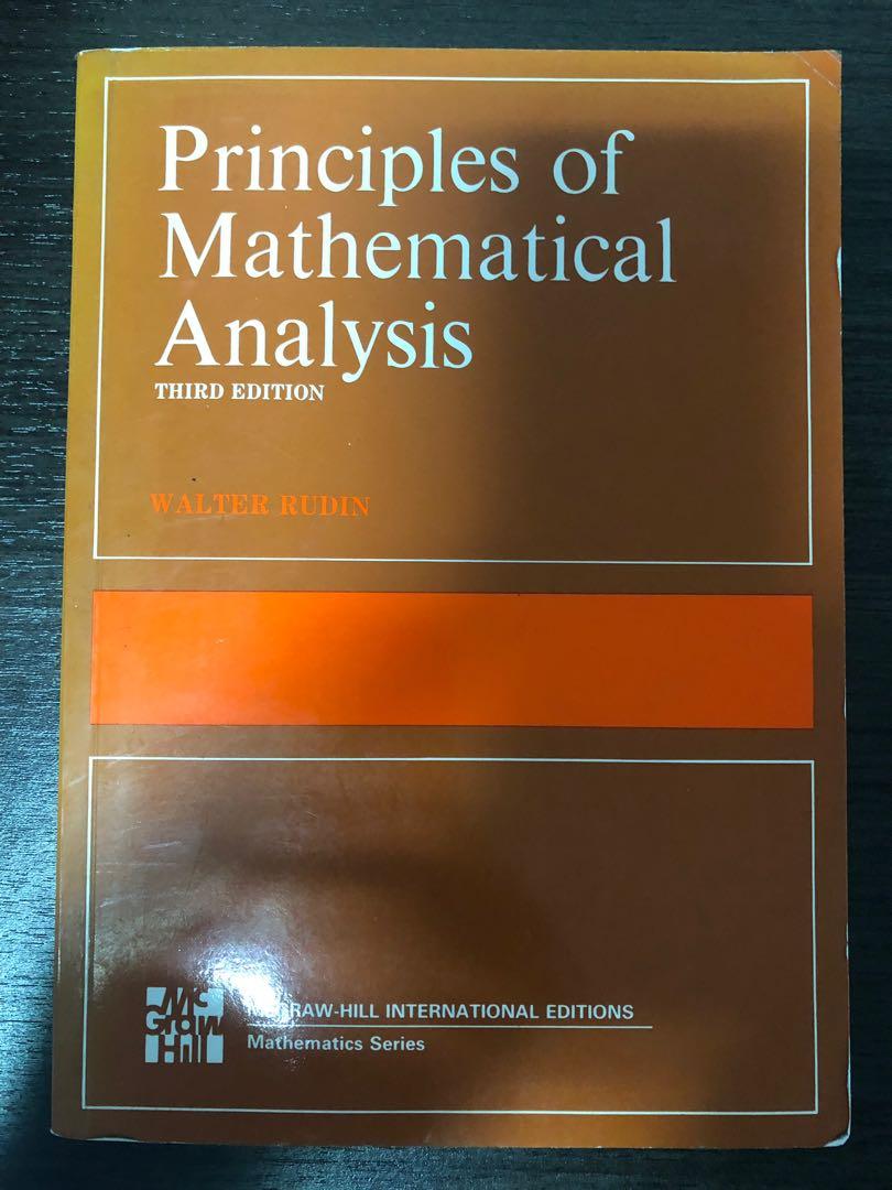 Principle of Mathematical Analysis